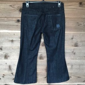 7 for all Mankind Lexi Bell Bottom Petite Jeans 31